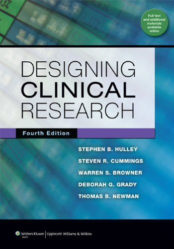 Designing Clinical Research  4th 2013 (Revised) edition cover