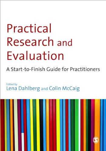 Practical Research and Evaluation A Start-to-Finish Guide for Practitioners  2010 edition cover