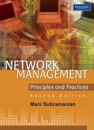Network Management Principles and Practices 2nd 2010 9788131734049 Front Cover