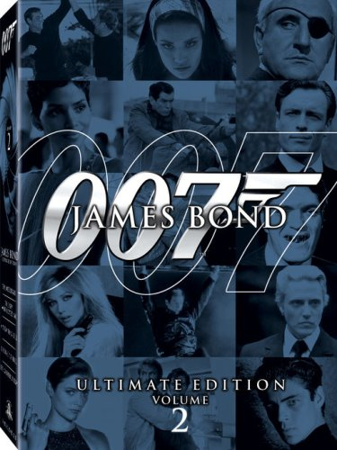 James Bond Ultimate Edition - Vol. 2 (A View to a Kill / Thunderball / Die Another Day / The Spy Who Loved Me / Licence to Kill) System.Collections.Generic.List`1[System.String] artwork
