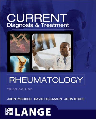 Diagnosis and Treatment Rheumatology 3rd 2013 edition cover