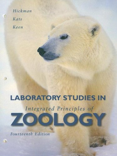 Laboratory Studies in Integrated Principles of Zoology  14th 2008 edition cover
