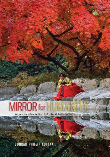 Mirror for Humanity: A Concise Introduction to Cultural Anthropology  2013 9780078035050 Front Cover