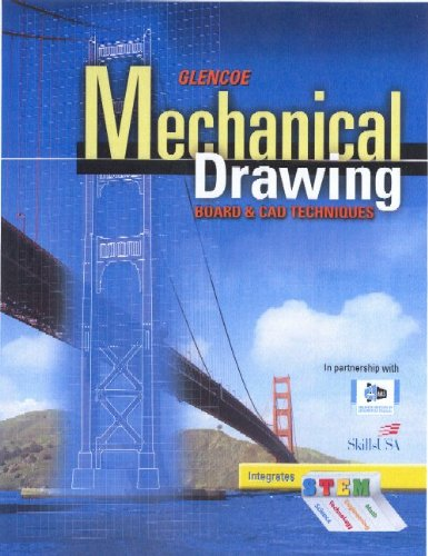 Mechanical Drawing Board and CAD Techniques  2010 (Student Manual, Study Guide, etc.) edition cover