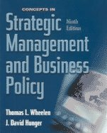 Concepts in Strategic Management and Business Policy  9th 2004 edition cover