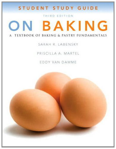 Study Guide for on Baking  3rd 2013 9780132373050 Front Cover