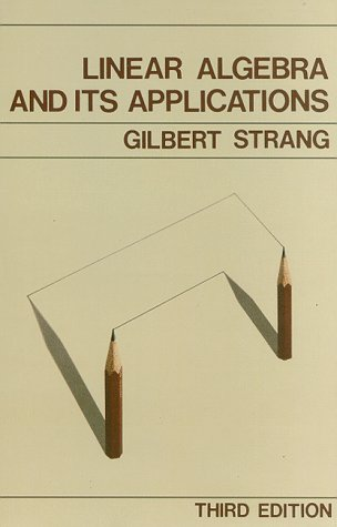 Linear Algebra and Its Applications  3rd 1988 edition cover