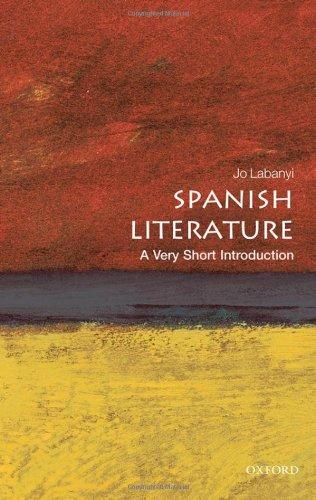 Spanish Literature   2010 edition cover