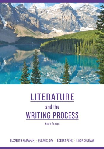Literature and the Writing Process  9th 2011 edition cover