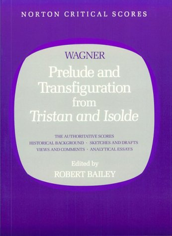 Prelude and Transfiguration from Tristan and Isolde   1985 edition cover