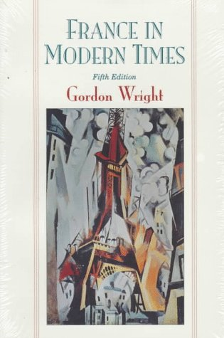 France in Modern Times  5th 1995 edition cover