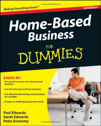Home-Based Business for Dummies  3rd 2010 edition cover
