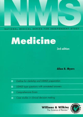 Medicine 3rd 1997 (Revised) 9780683181050 Front Cover