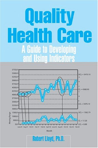 Quality Health Care A Guide to Developing and Using Indicators  2004 edition cover