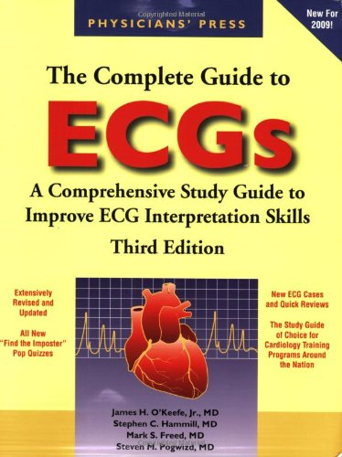 Complete Guide to ECGs  3rd 2008 (Revised) 9780763764050 Front Cover