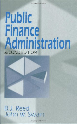 Public Finance Administration  2nd 1997 edition cover