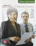 Mcgraw-hill's Essentials of Federal Taxation 2016:   2015 edition cover