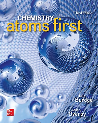 Lab Manual for Chemistry: Atoms First  3rd 2018 9781259923050 Front Cover
