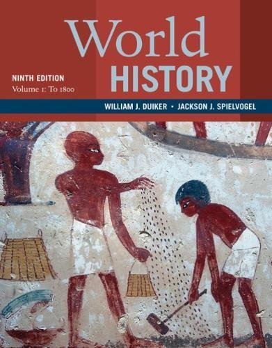World History: To 1800  2018 9781337401050 Front Cover
