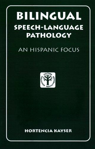 Bilingual Speech-Language Pathology An Hispanic Focus  1995 edition cover