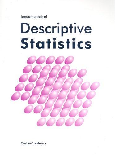 Fundamentals of Descriptive Statistics   2017 edition cover