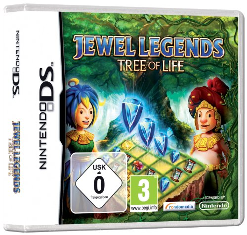 JEWEL LEGENDS - TREE OF LIFE Nintendo DS artwork