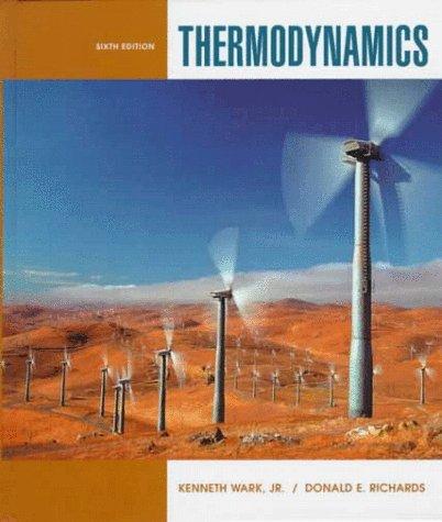 Thermodynamics  6th 1999 edition cover