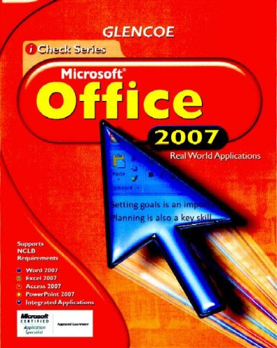 Microsoft Office 2007   2009 (Student Manual, Study Guide, etc.) edition cover