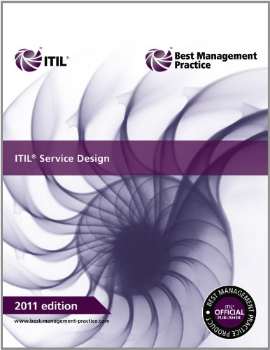 ITIL Service Design  2nd 2011 edition cover