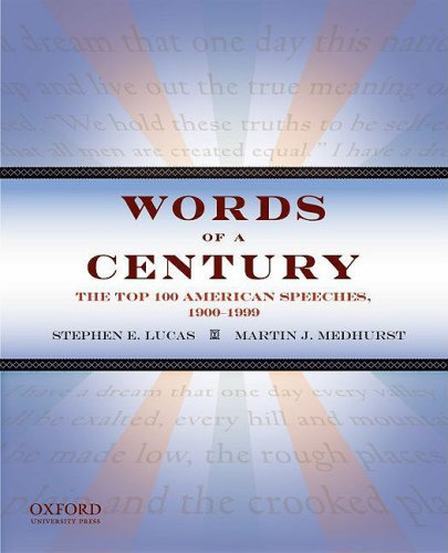 Words of a Century The Top 100 American Speeches, 1900-1999  2009 edition cover