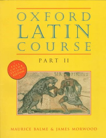 Oxford Latin Course  2nd 1996 edition cover