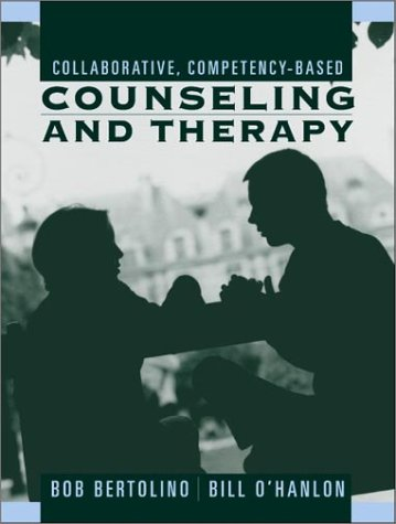 Collaborative, Competency-Based Counseling and Therapy   2002 9780205326051 Front Cover