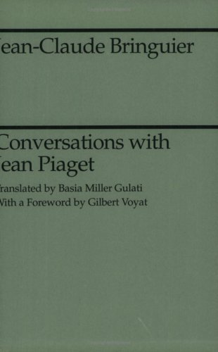 Conversations with Jean Piaget  N/A edition cover
