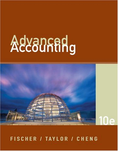 Advanced Accounting  10th 2009 edition cover