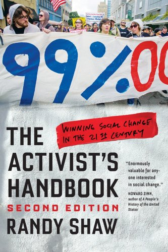 Activist's Handbook Winning Social Change in the 21st Century 2nd 2013 edition cover