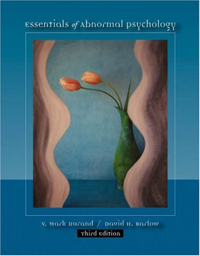 Abnormal Psychology  3rd 2003 9780534598051 Front Cover