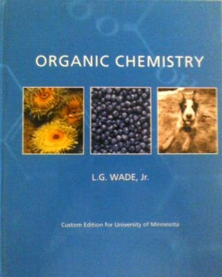 ORGANIC CHEMISTRY >CUSTOM< N/A edition cover