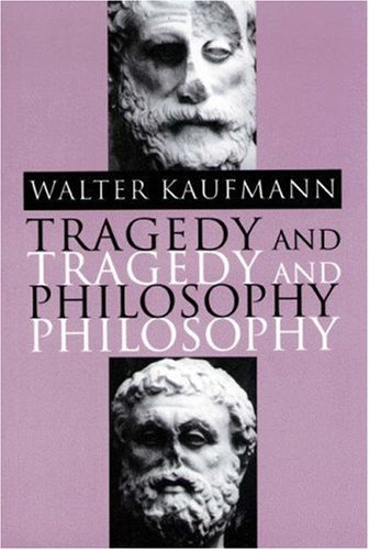 Tragedy and Philosophy   1993 edition cover