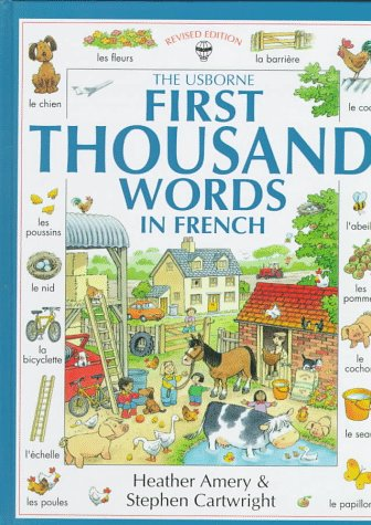 First 1000 Words in French   1995 (Revised) 9780746023051 Front Cover