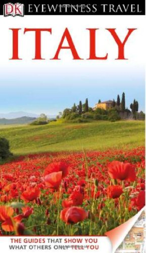 Eyewitness Travel Guides Italy   2012 edition cover