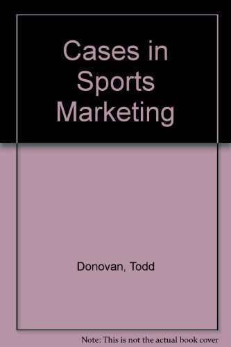 Cases in Sports Marketing with Website   2009 (Revised) 9780757559051 Front Cover