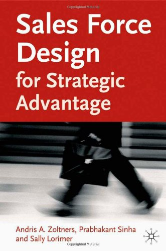 Sales Force Design for Strategic Advantage   2004 edition cover