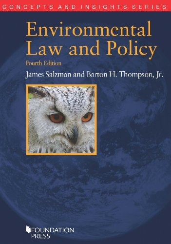 Environmental Law and Policy:   2013 9781609303051 Front Cover