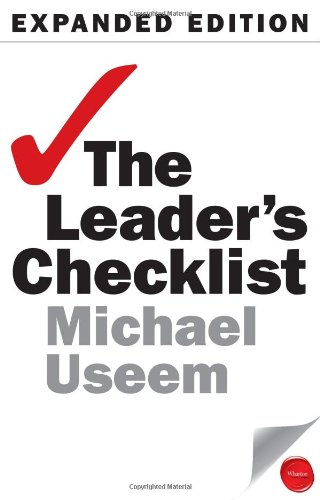 Leader's Checklist, Expanded Edition 15 Mission-Critical Principles 2nd 2011 edition cover