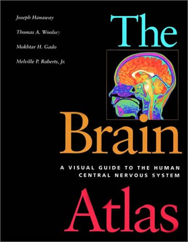 Brain Atlas A Visual Guide to the Human Central Nervous System  1998 edition cover