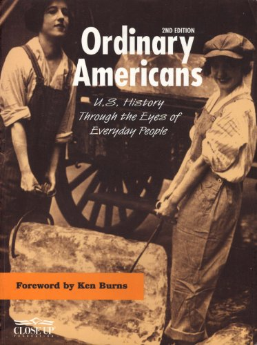 Ordinary Americans : U. S. History Through the Eyes of Everyday People 2nd 2003 edition cover