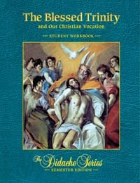 BLESSED TRINITY+OUR CHRIST.VOC.-WKBK. N/A edition cover