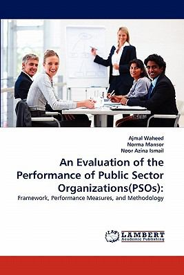 Evaluation of the Performance of Public Sector Organizations  N/A 9783838398051 Front Cover