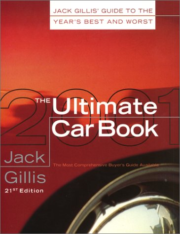 Ultimate Car Book, 2001  N/A 9780062737052 Front Cover