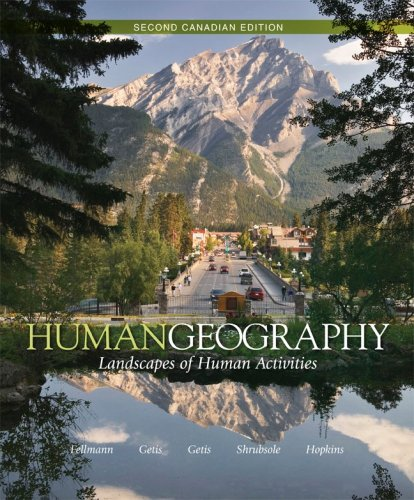 Human Geography Landscapes of Human Activities 2nd 2009 edition cover